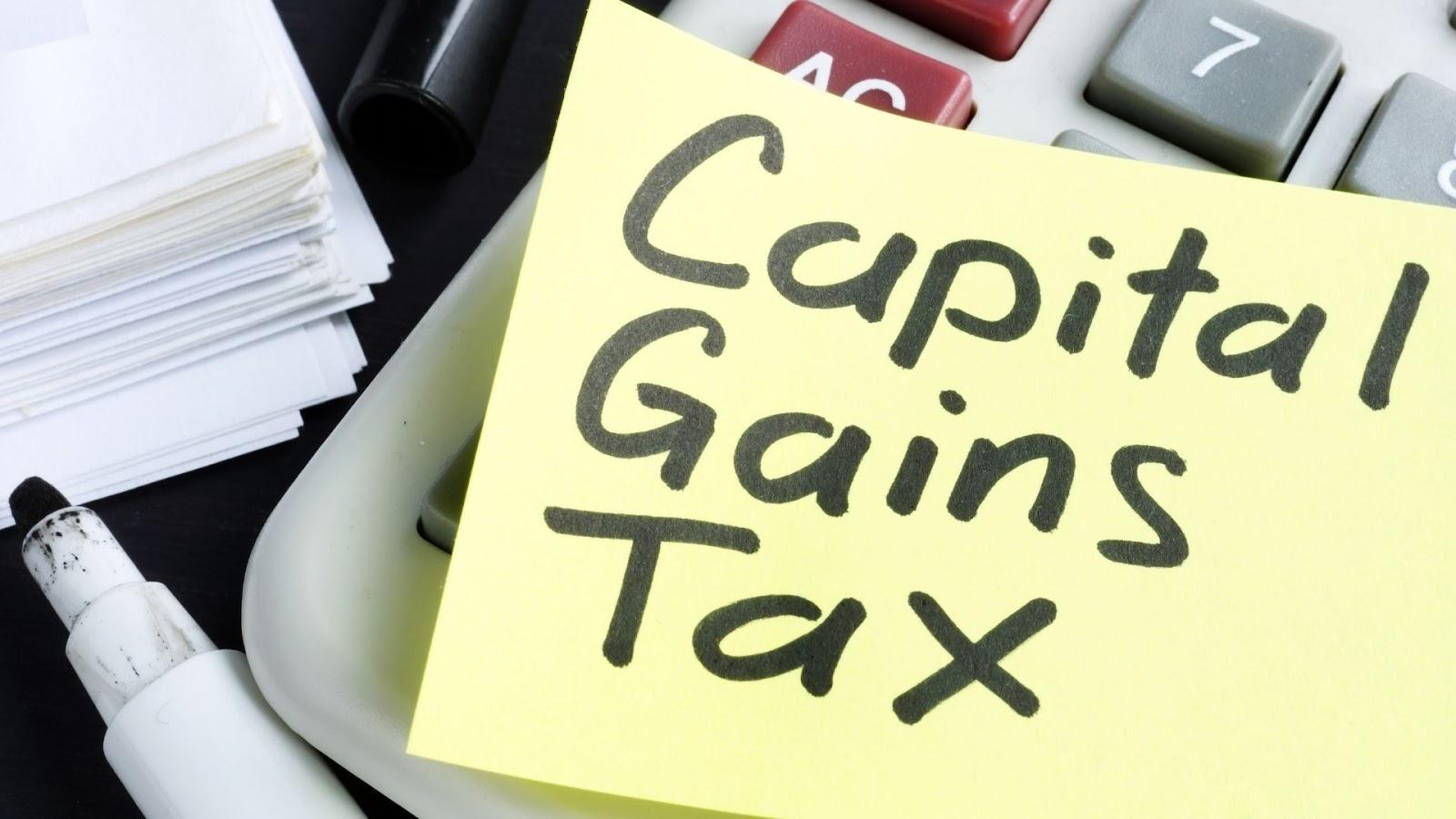capital gains tax calculations